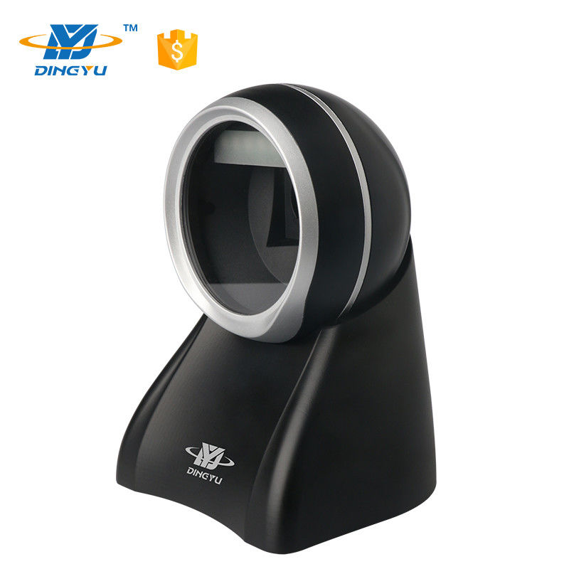 Omnidirectional black and silk high speed Leading CMOS Desktop 2D Barcode Scanner DP8501